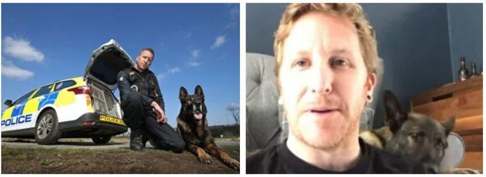 Policial revela que cachorro o impediu de tirar a própria vida