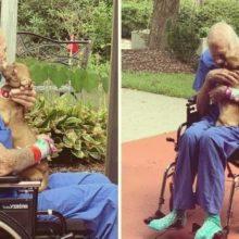 Cachorro pede Ajuda e Salva a Vida de Seu Dono de 86 Anos