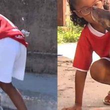 Jogador de Futebol Ajuda Garotinha que Cata Latinhas Para Alimentar Cães de Rua