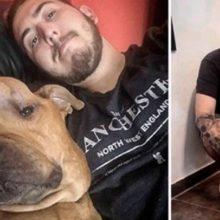 Homem Adotou Cachorro com Câncer para lhe Oferecer todo Amor em seus Últimos Dias