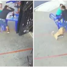 Cãozinho corajoso enfrenta bandido armado com faca para proteger seus donos de assalto