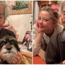 Vôzinho e seu cachorro tem as semelhanças mais incríveis do mundo