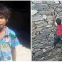 De forma surpreendente menino de 9 anos resgata raposa que havia caído em poço